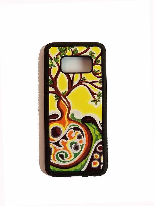 Samsung Galaxy S8 phone case - Yellow Tree
