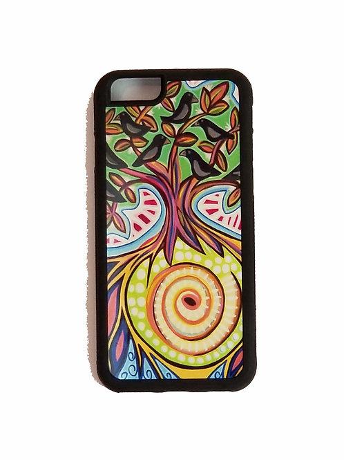 iPhone 6 Plus or iPhone 6S Plus phone case - Blackbirds