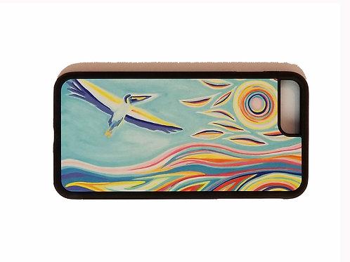 iPhone 7 Plus or iPhone 8 Plus phone case - Taking Flight