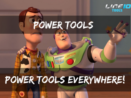 Power tools, who doesn't like power tools?