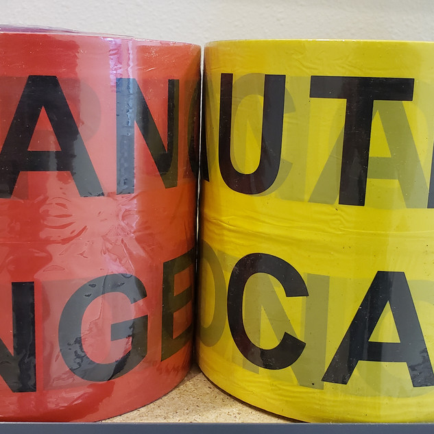 Caution and Danger Tape