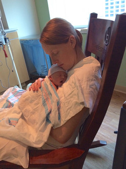 Sadie and Mom