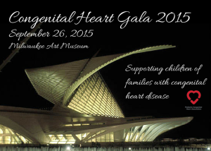 PCHA 2015 Congenital Heart Gala