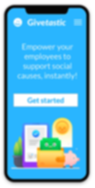 App for employees to support social causes