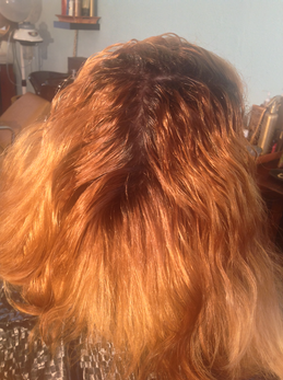 BEFORE: UNWANTED RED ORANGE TONE