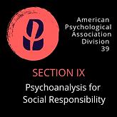Psychoanalysis for Social Responsibility