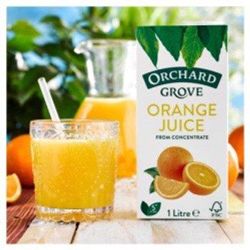 Orchard Grove Orange Juice 1lt