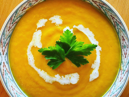 Spiced Carrot and Honey Soup