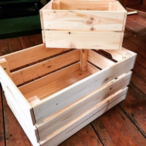 Re-useable Wooden Crate