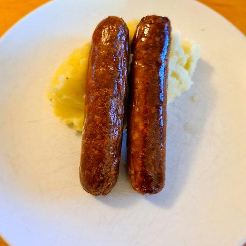 Local Free Range Pork Sausages pack of 6