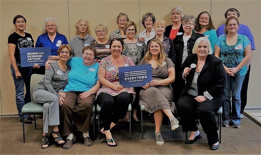DWCC Janurary Meeting with Moms Demand Action for Gun Sense