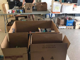 Food Drive for Hurricane Harvey
