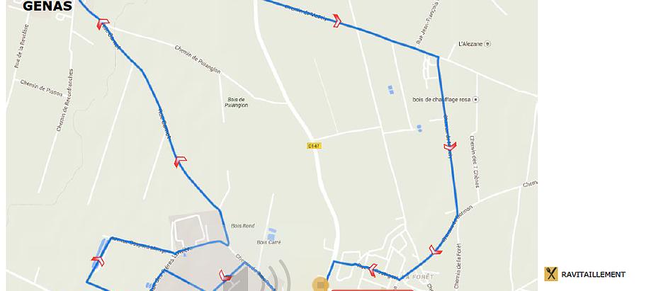 Parcours du 10 km