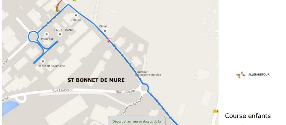 Ri2M Kids Parcours 1,8 km