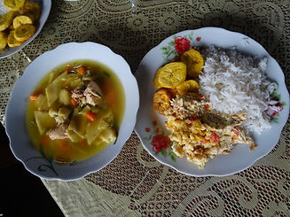 typical foodfro the Amazon forest
