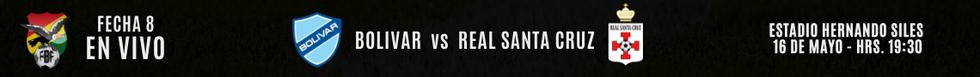 BOLIVAR vs REAL SANTA CRUZ
