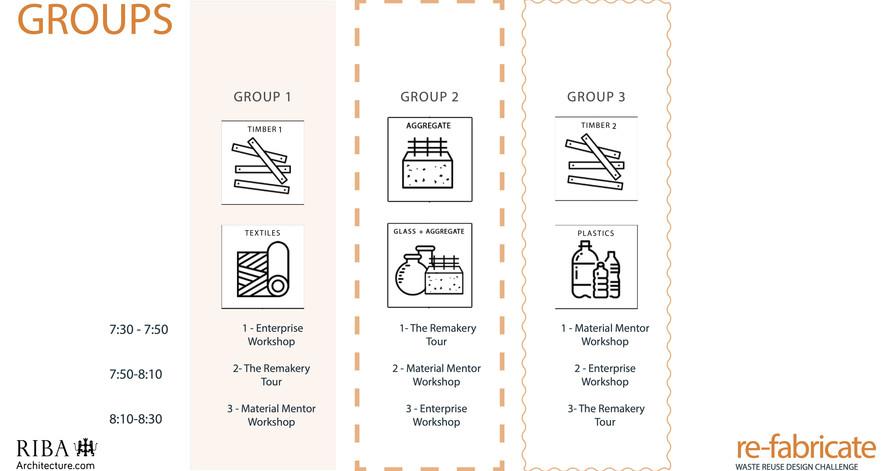 Group Workshop Schedule