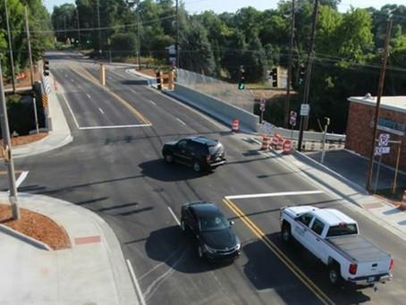Roff Ave Bridge Renovations Complete