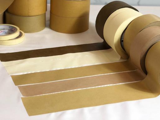 Băng keo giấy Nâu Kraft - thân thiện và bảo vệ môi trường