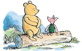 Winnie-The-Pooh Shepard Piglet Milne
