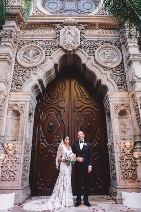 Chris and Lorissa's Wedding, Mission Inn