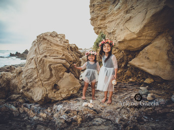 Eva and Ivy's Beach Session