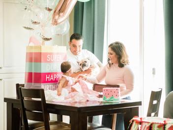 Milestone | Peyton's First Birthday