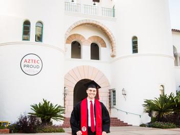 Matthew's Graduation Session-San Diego State University