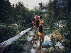Mountain Family Session with the Schusters