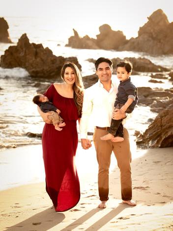 Fall Family Beach Session-Newport Beach