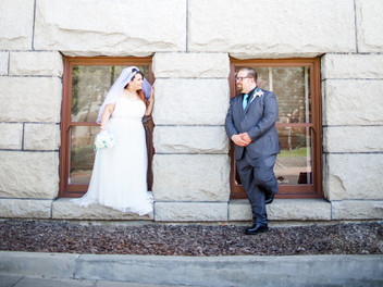 Alicia and Ryan's Wedding, Historic Santa Anna Court House