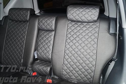 Авточехлы Автопилот Toyota Rav4 lll 06-12 черн ромб