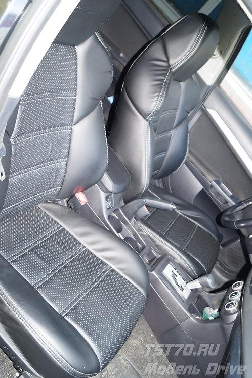 Авточехлы Dinas модель Drive эко-кожа