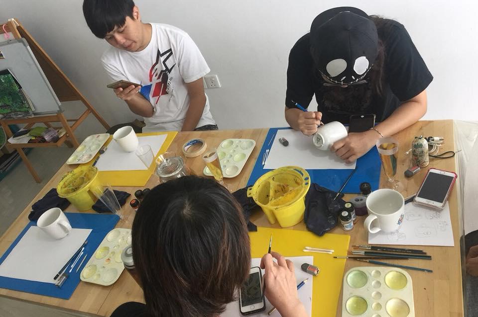 Paint your mug workshop