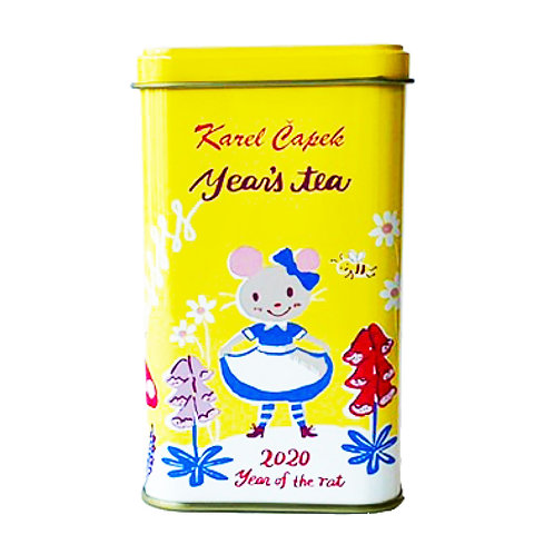 2020 YEAR OF RAT TEA CANISTER l 2020イヤーズ キャニスター