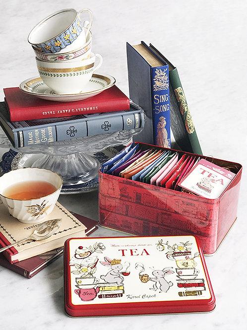 TEA LOVERS CAN l 20 TEA BAGS