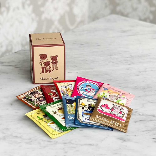 LIMITED ED KUMA TEA GIFT BOX l ティーバッグBOX
