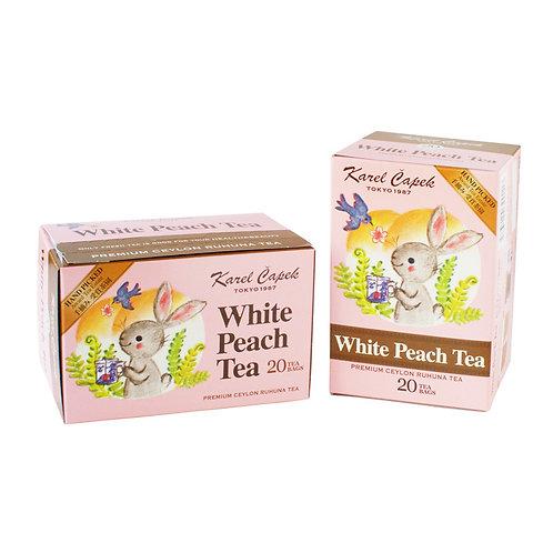 WHITE PEACH TEA 20 PCS l ホワイトピーチティー