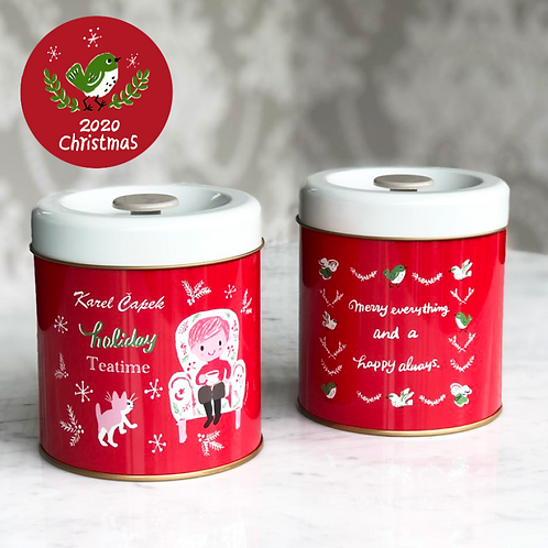 LIMITED CHRISTMAS TEA CANISTER l ティーキャニスター缶 クリスマス