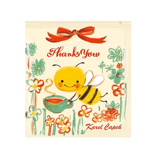 MESSAGE TEA メッセージティーバッグ l BUZZY THANK YOU ありがとうございました
