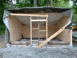 Provisorisk takläggning