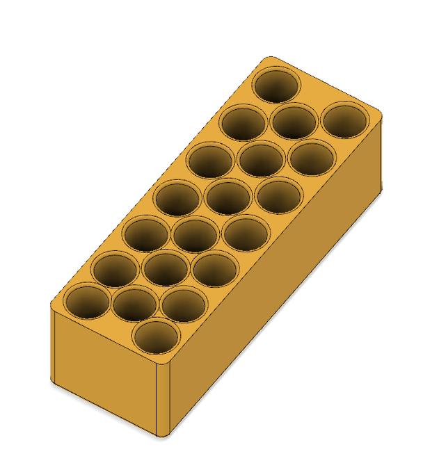 20x Axle Setup Holes