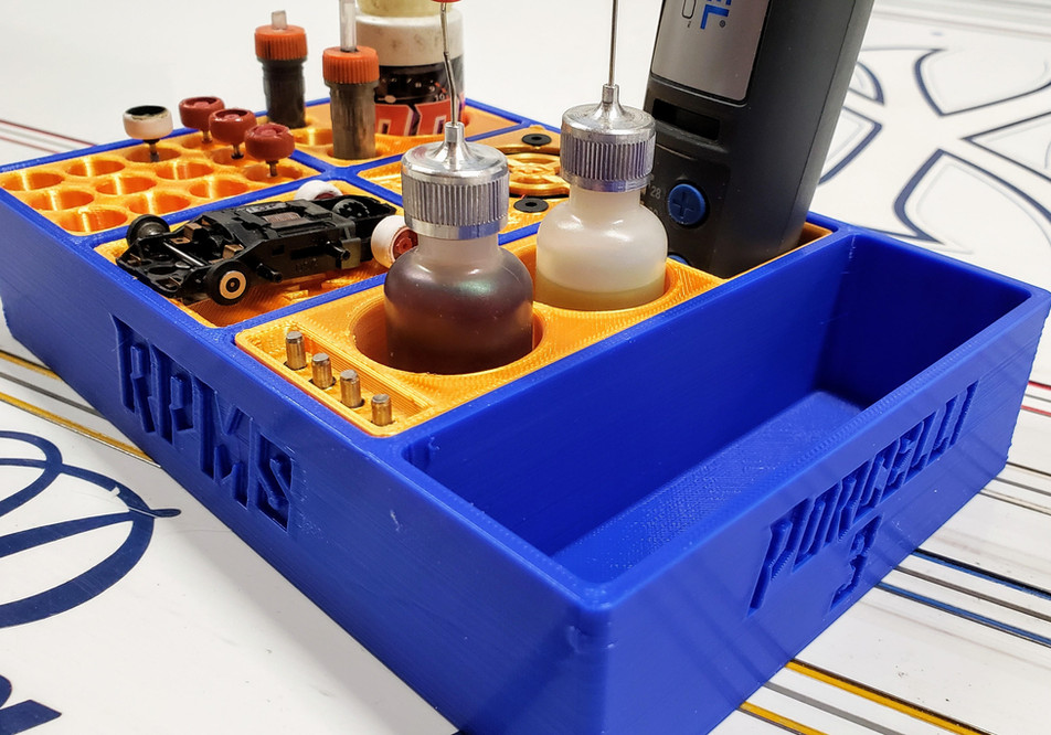 Blue Modular Pit Box System