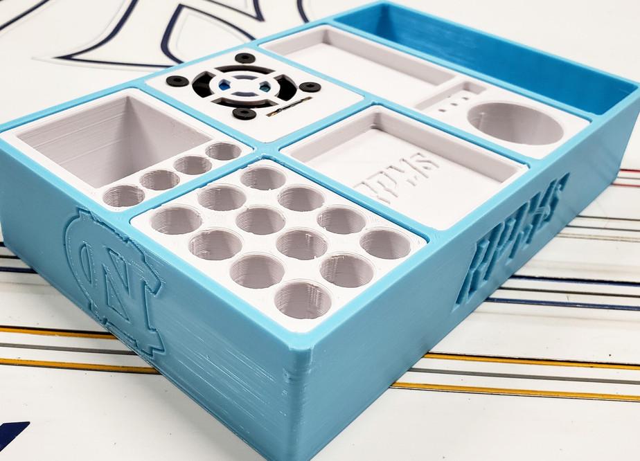 Caronlina Blue Modular Pit Box System