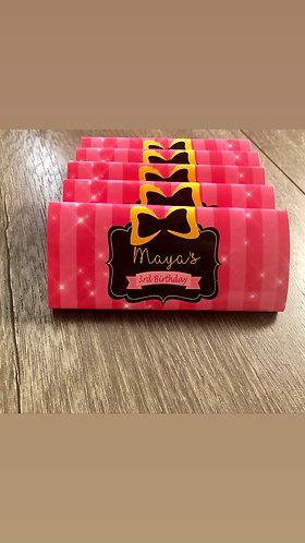 Emma Wiggle Chocolate bar