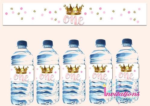 Princess bottle label