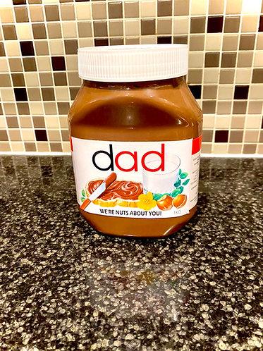 Nutella label digital file