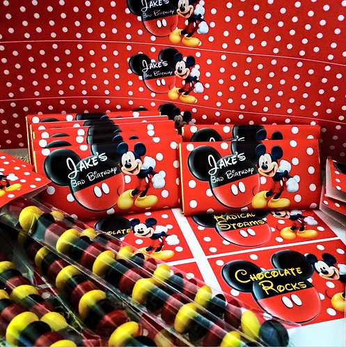 Mickey Mouse chocolate bar file