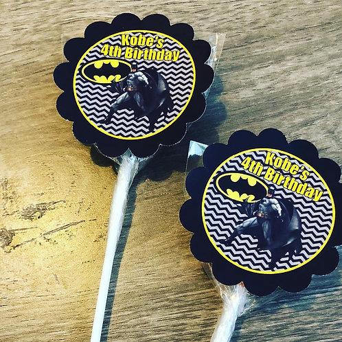 Batman lollipop