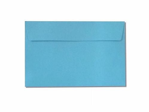 Blue C6 envelope